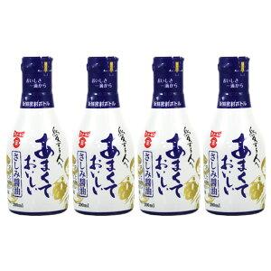 [フンドーキン/こいくち/大分県]フンドーキン あまくておいしい【刺身醤油】 200ml x 4本