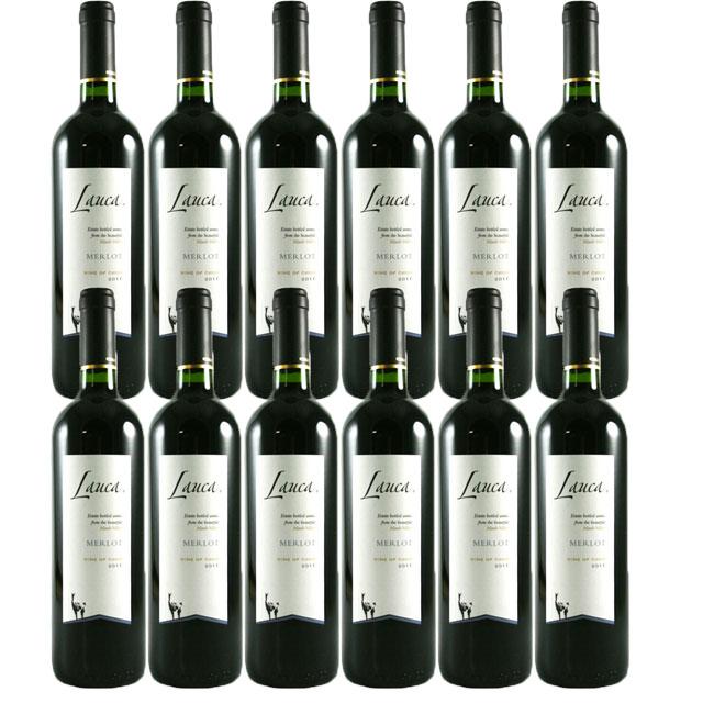 【送料無料 安定の大人気チリワイン】ラウカ メルロー 750ml 12本セット