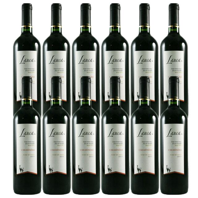 【送料無料 安定の大人気チリワイン】ラウカ カルメネール 12本セット