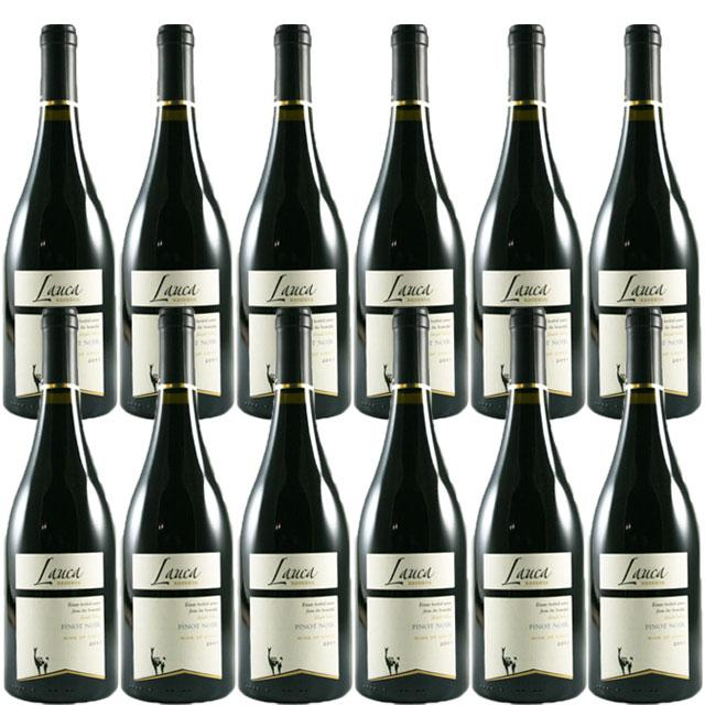 【送料無料 安定の大人気チリワイン】ラウカ 【リゼルヴァ】 ピノノワール 12本セット