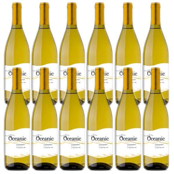 【送料無料】【当店直輸入】オセアニック シャルドネ 750ml×12本 Oceanic Chardonnay