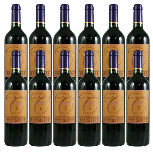 【送料無料 安定の大人気チリワイン】カーサ・アンティグア カルメネール 750ml×12本セット CASA ANTIGUA