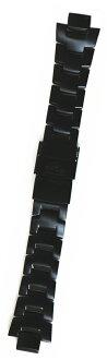 供卡西欧[CASIO]初期Lec PRW-3000YT使用的的黑色钛带(皮带)