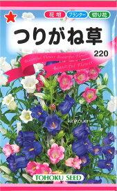 【代引不可】【送料5袋まで80円】 □つりがね草  4-3-10