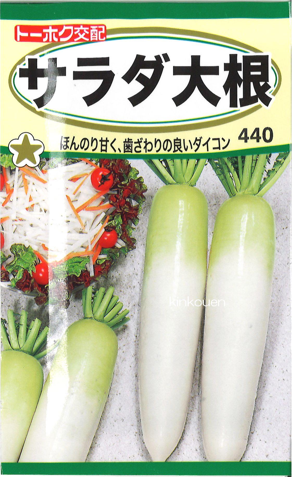 【代引不可】【5袋まで送料80円】 □サラダ大根