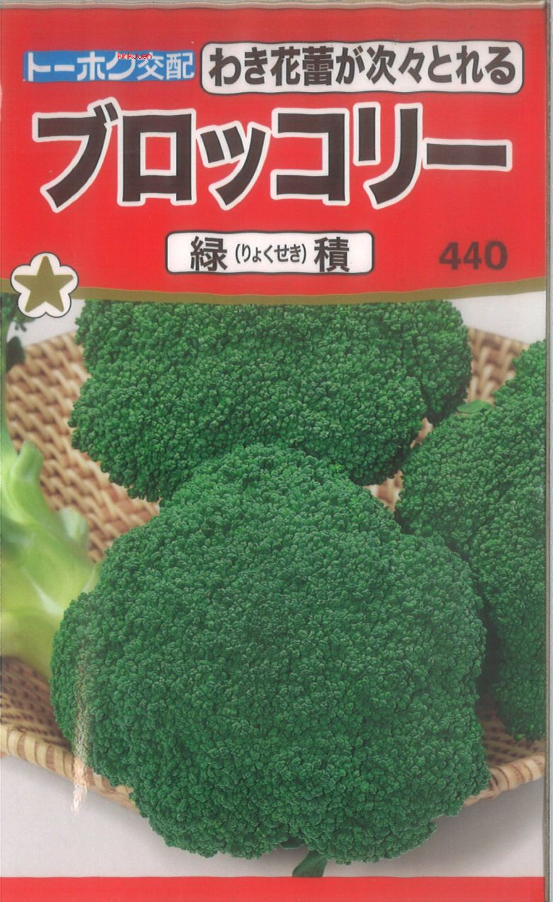 【代引不可】【5袋まで送料80円】 □ブロッコリー緑積