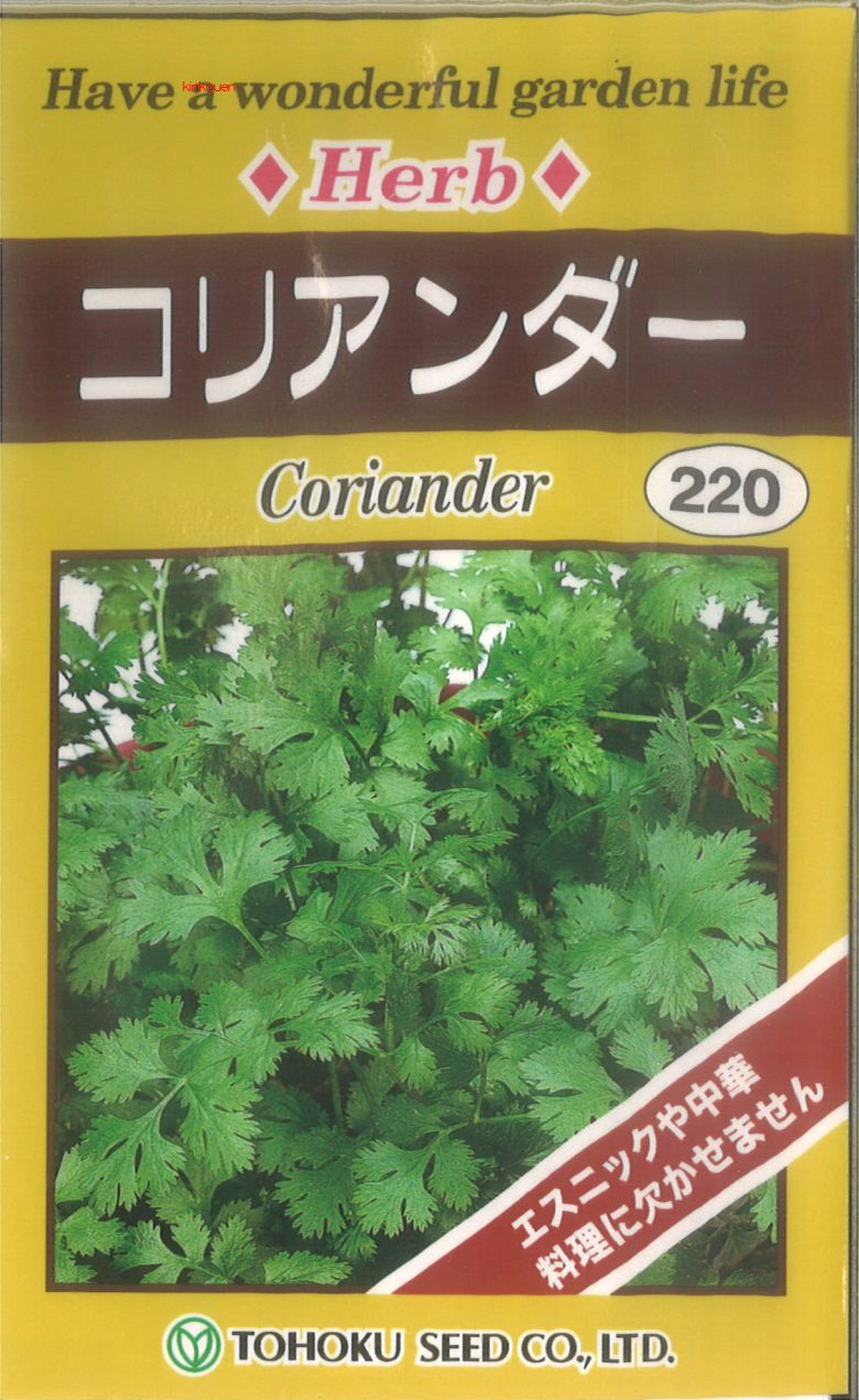 【代引不可】【5袋まで送料80円】 □コリアンダー