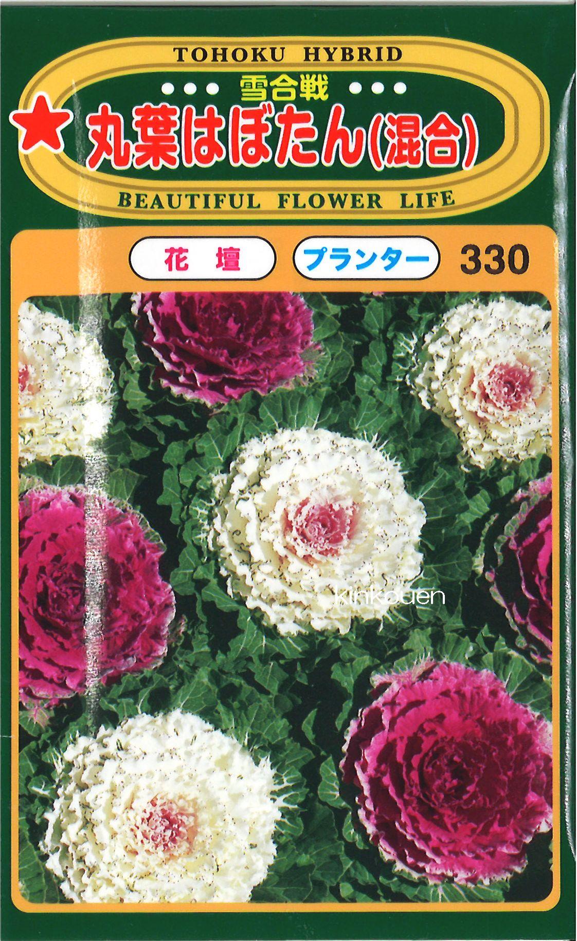 【代引不可】【5袋まで送料80円】 □丸葉はぼたん混合雪合戦
