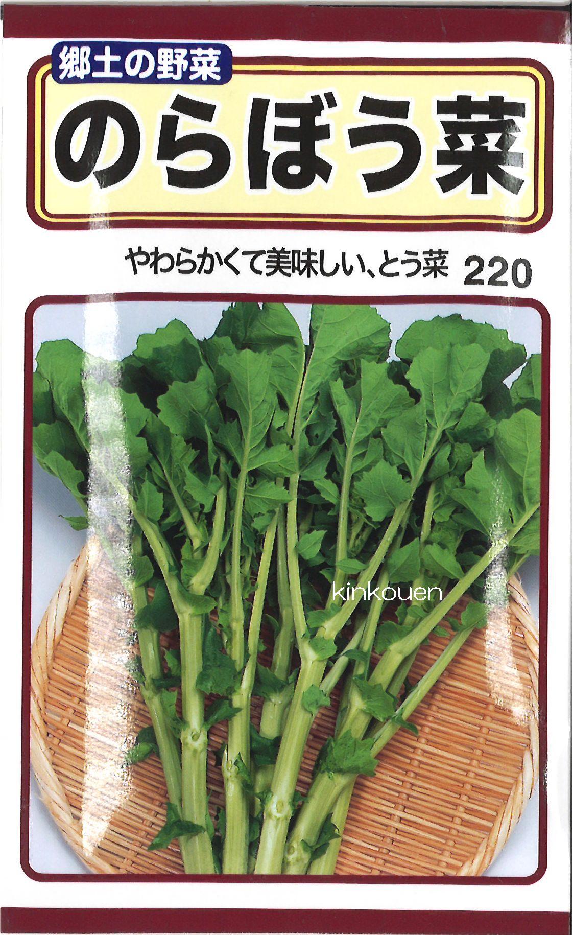 【代引不可】【5袋まで送料80円】□のらぼう菜