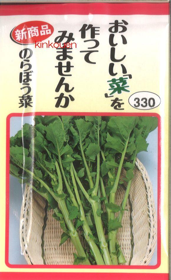 【代引不可】【5袋まで送料80円】 □おいしい菜を作ってみませんかのらぼう菜