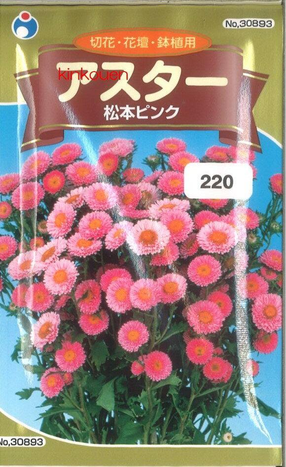 ≪代引不可≫≪5袋まで送料80円≫ □アスター松本ピンク