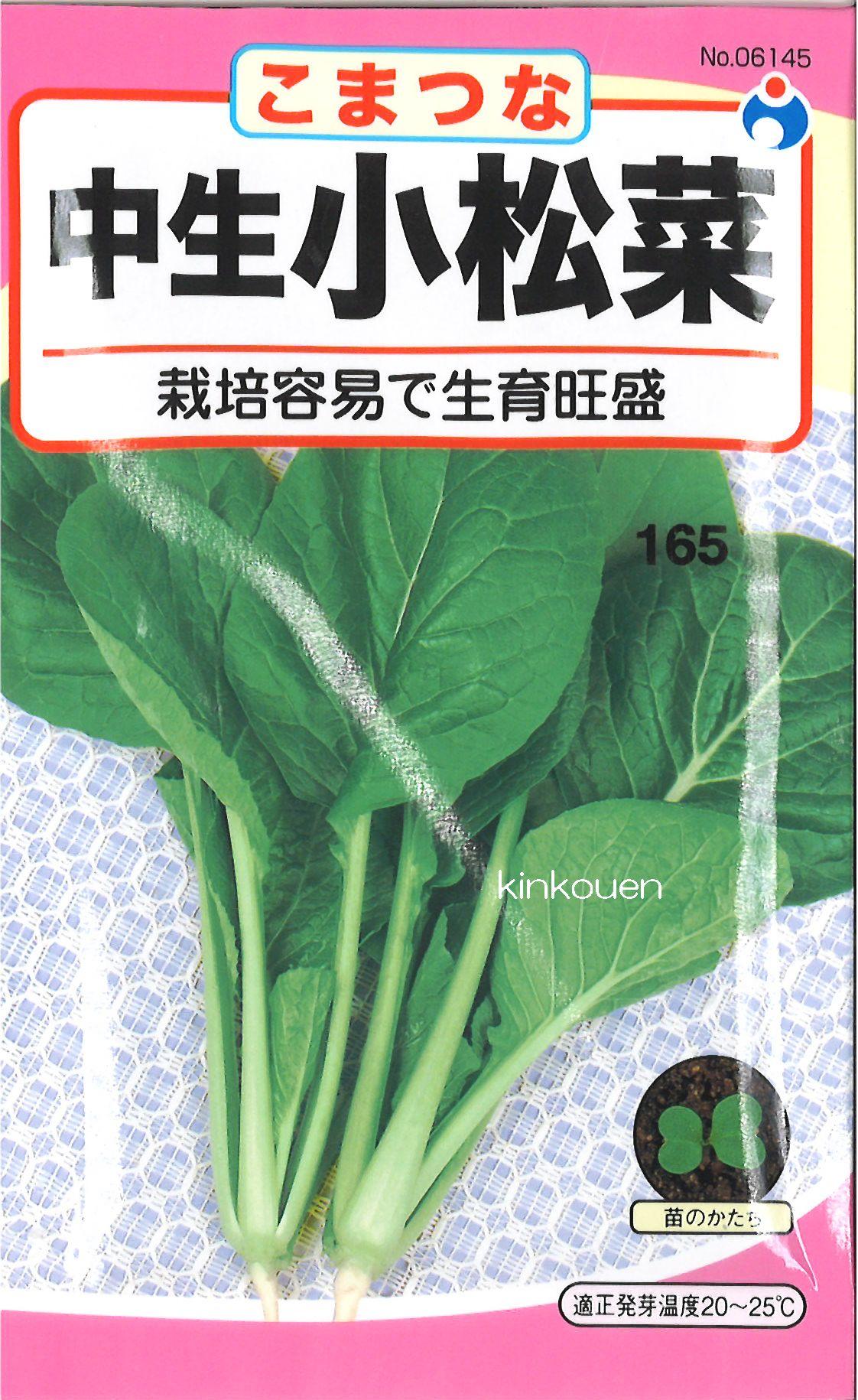 【代引不可】【5袋まで送料80円】 □ コマツナ 中生小松菜
