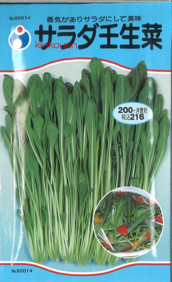 【代引不可】【5袋まで送料80円】□サラダ壬生菜