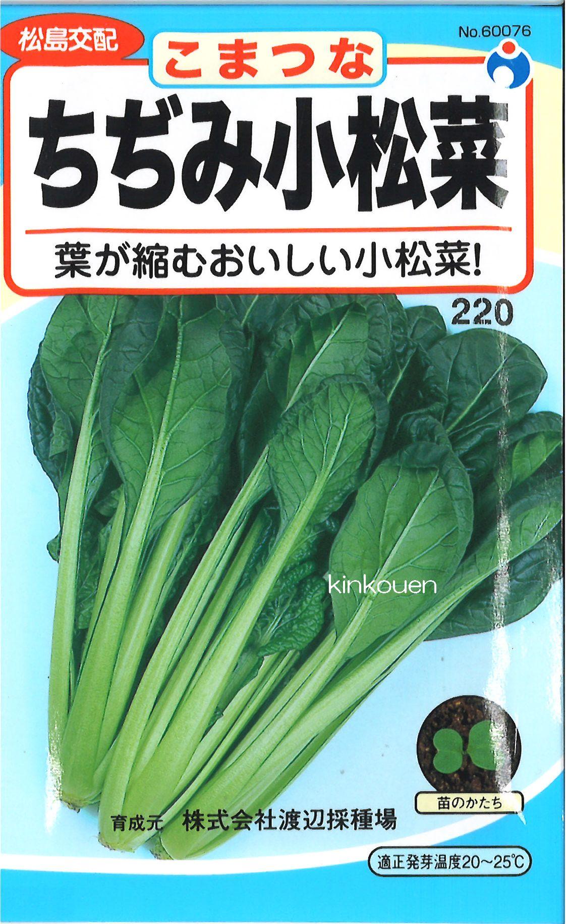 【代引不可】【5袋まで送料80円】□ちぢみ小松菜