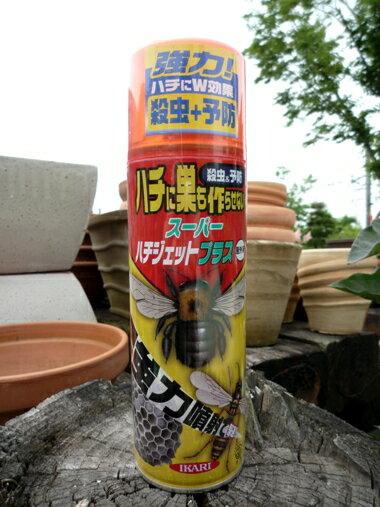 □ハチの巣駆除★IKARIスーパーハチジェットプラス 480ml