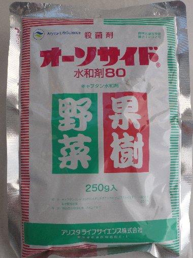 □ アリスタライフサイエンスオーソサイド水和剤80・250g入