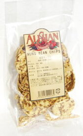 ムング豆の緑豆チップス50g
