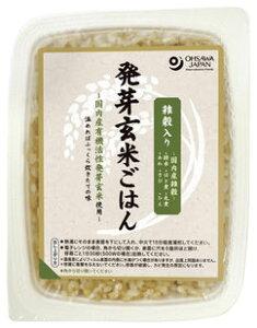 国内産 雑穀入り発芽玄米 ごはん (160g)