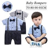 70cafcadba970 PR 子供服 男の子 ベビー フォーマル スーツ ベビー服 半袖 ロン.