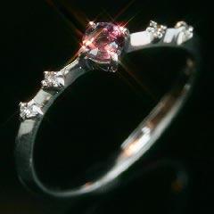エメラルドマイン社ブラジル産アレキサンドライト×ダイヤモンドリング・ショッパリーゼ
