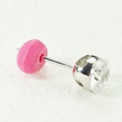 【あす楽対応】ハート型ピンクシリコンキャッチ(ピアスキャッチ)かわいいピンクのハートピアスキャッチ!【RCP】