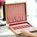 天然木製ジュエリーボックス【ラージサイズ】大容量 日本製 ジュエリーケース 収納ケース アクセサリーケース おしゃ…