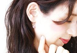 桜ピアス18KレディースルビーピンクトルマリンK1818金ゴールド・レニーセリゼ大人気揺れるさくらモチーフアクセサリーぶらさがり可愛いピアス花誕生日プレゼント女性ジュエリー退職祝い