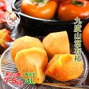 九度山 の 富有柿 【秀品 4L サイズ】 送料無料たっぷり7.5kg!約22個入り名産地、和歌山【九度山】ブランドの極上…