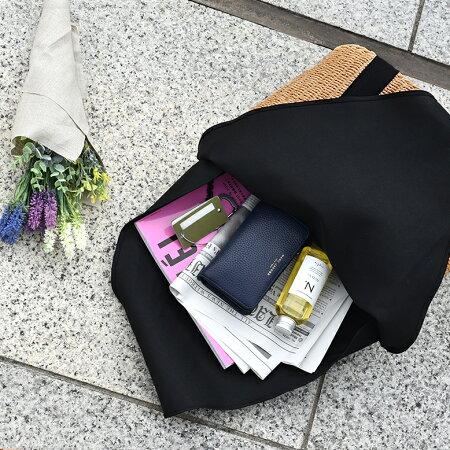 かごバッグトートショルダー巾着付きバスケットトートバッグショルダーバッグ巾着A4レディース大きめファスナー肩掛けかわいいおしゃれナチュラル黒布大容量底鋲シンプル軽量春夏秋送料無料