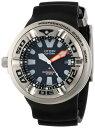 シチズン Citizen Men's BJ8050-08E Eco-Drive Professional Diver Black Sport Watch メンズ...