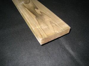 国産杉(スギ)板材【長さ3.0m×厚さ3.0cm×巾12.0cm】無垢材 ACQ注入材群馬県産木材