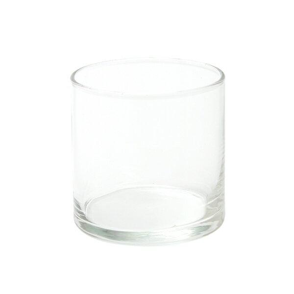 ガラス容器 サークルM (フィルム付)【 キャンドルグラス キャンドルホルダー テラリウム ガラス製 容器 耐熱 球 丸 ガラス容器 硝子容器 ガラスの器 透明容器 ガラス製容器 ジェルキャンドル ソイキャンドル アロマキャンドル 透明 無色 キャンドルキット 手作り】[c]