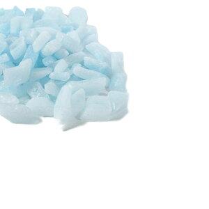 カラーワックスブロックライトブルー100g【キャンドル材料タイルチップカラーブロックカラーチップグラデーションパラフィンワックスデコレーションキット手作り】[r02]