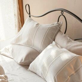 枕カバー Mサイズ Chic stripe