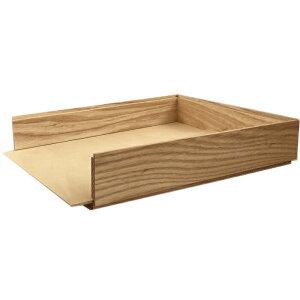 【楽天ランキング1位獲得!】キノ書類トレー A4 無垢材 ナチュラル色 書類ケース 木製 デスクトレー おしゃれ 収納 オフィス 書類整理 オフィス 整理 おすすめ 書類トレー トレイ A4トレイ 領