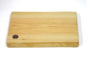 カッティングボード まな板 バケットプレート キッチントレイ 木製 天然木 ヒノキ 桧 檜 一枚板 無垢 手作り 自然 皮 耳付き TWMサイズ 幅330mm 奥行約220mm 厚み25mm 無塗装