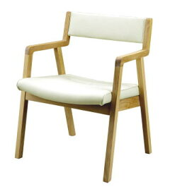 ダイニングチェア 食卓椅子 イス CITY シティ C-35 オーク リビング ダイニング 天然木 本革 PVC ホワイト 白 セラウッド【smtb-KD】【P5】