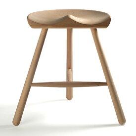 シューメーカー チェア 49 スツール 椅子 座面高さ46cm ワーナー WERNER 北欧 天然木 ブナ 無垢 3本脚 無塗装 デザイン【smtb-KD】