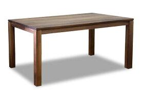 ダイニングテーブル 食堂机 食卓 レクト 幅180cm 奥行90cm 高さ70cm 4本脚 ウォールナット 無垢 シンプル 国産 日本製【smtb-KD】