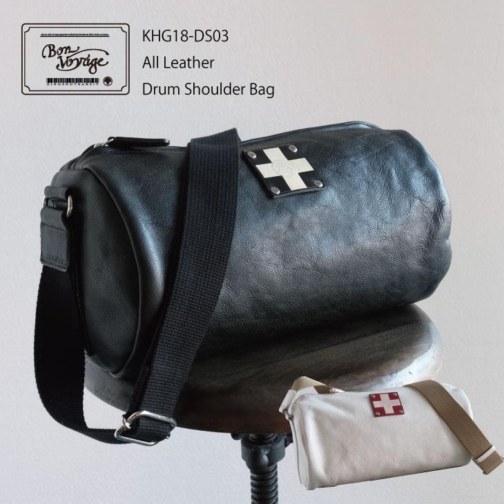 【公式】【KinoshoTRANSIT】【総革 ドラム型ショルダーバッグ/ Drum Shoulder Bag】木の庄帆布 限定発売《All Leather Drum Shoulder Bag》木の庄帆布 総革ドラム型ショルダーバッグは旅行に出張お仕事普段にもつかえる鞄。メンズ/レディース/