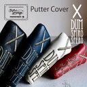 パターカバー ヘッドカバー 本革 レザー ゴルフ ピン ピン型 木の庄帆布 総革 KinoshoTRANSIT PUTTER Putter Cover Pi…