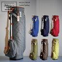 キャディバッグ レア メンズ 軽量 木の庄帆布 レディース キャンバス 帆布 ゴルフ 公式 Kinosho TRANSIT カートバッグ…