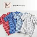 【ボーダー Tシャツ】【Kepani ケパニ】【公式 販売サイト】《Raffy Stretch Fraise Short Sleeveメンズ/レディース/カットソー/ストレッチフライス/Tシャツ/日本製/国産