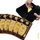 金箔貼工芸品「お金がたまる小判(全5種)」【RCP】 02P06Aug16