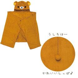 San-Xリラックマ「あったか雑貨(2017)/ポンチョひざかけ(全3種)」