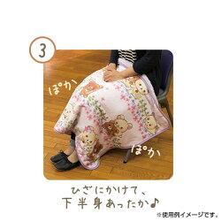 San-Xすみっコぐらし「あったか雑貨/ひざかけ(チェック柄・レッド)(CM07301)」