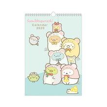 San-Xすみっコぐらし「カレンダー2020/壁かけカレンダー(B4)(CD33601)」