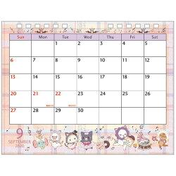 San-Xセンチメンタルサーカス「カレンダー2020/卓上カレンダー(CD34301)」