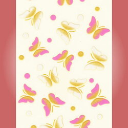 蒔絵シール「蝶」