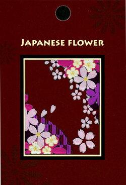 蒔絵シール「JAPANESEFLOWER/桜」